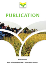 Evaluation d'alternatives d'economie d'eau dans les systemes de double riziculture irriguee a l'office du Niger (Mali)