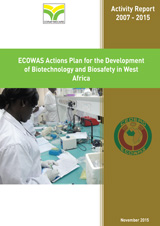 CORAF-ECOWAS Actions Plan for the Development of Biotechnology and Biosafety in West Africa