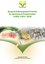 CORAF-Research Priorities for Agriculture Transformation 2014 - 2018