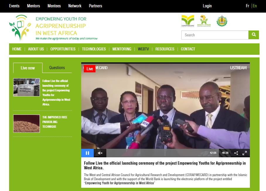 A WEB TV- Station on Agripreneurship | West Africa