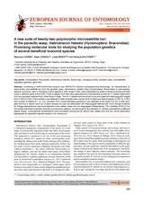 Des outils moléculaires prometteurs dans l'étude de la génétique des populations de plusieurs espèces braconides