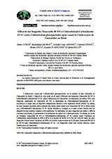 Efficacité des fongicides Mancozèbe 80 WP et Chlorothalonil-Carbendazime 65 SC ...