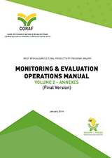 Monitoring & Evaluation operations manual