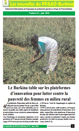 WAAPP BURKINA FASO NEWSLETTER JUNE 16