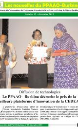 BURKINA FASO WAAPP NEWSLETTER DEC 2015